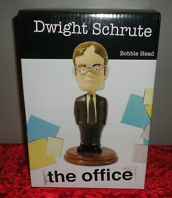Official THE OFFICE - DWIGHT SCHRUTE Bobblehead with Box *NEW*