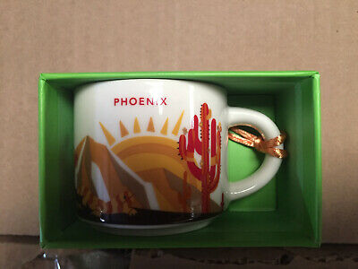 2oz Starbucks Demi Cup Ornament PHOENIX You R Here Collection mug coffee limited