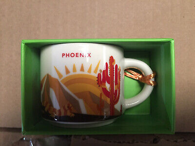 2oz Starbucks YAH Demi Cup Ornament PHOENIX You ARE Here Collection mug coffee