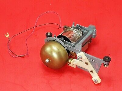 Vtg Western Electric Single Bell Telephone Ringer Assembly ** H1 Type **