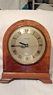 Antique Hammond Chancellor Electric Clock