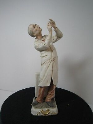 Vintage Original arnart Creation Japan Doctor Porcelain Figurine, 7.5 inch