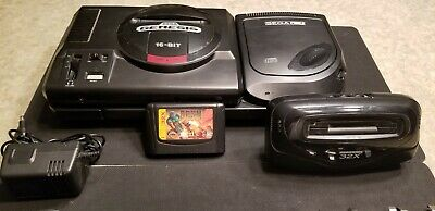 SEGA GENESIS, 32X, Sega CD and games bundle - $300 00 | PicClick