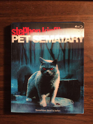 Pet Sematary Used Blu-ray with Lenticular Slipcover
