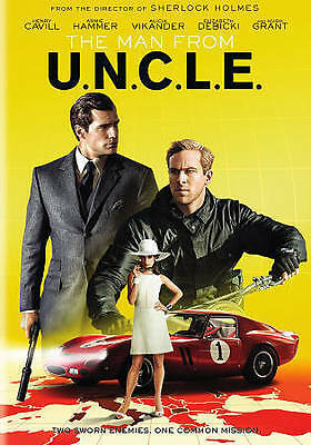The Man From U.N.C.L.E. (DVD, 2015) - Ex Library - **DISC ONLY**