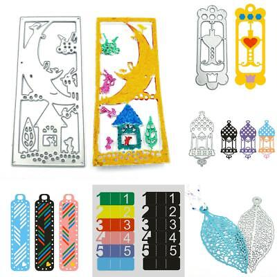 Bookmark Metal Cutting Dies Stencil Scrapbooking Die Card Embossing Album DIY