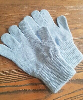 Toddler/boy gloves, size small 3/4 years, colour blue