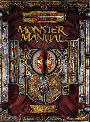 Dungeons and Dragons Core Rulebook III v.3.5 Monster Manual  2003 HD