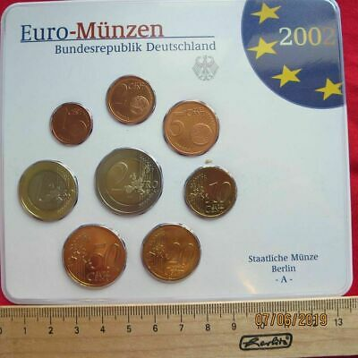 Germania - Rfg Euro Monete Set KMS 2002-2008 A-J - Varie Annate