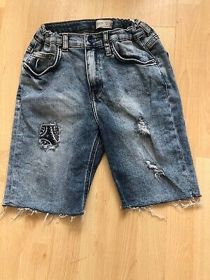 Boys Zara Jean Shorts With adjustable waist Aged 11-12 Years