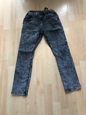 Boys Zara adjustable waist Jeans Aged 8 Years