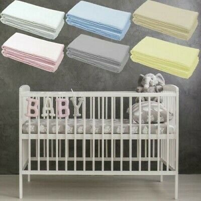 Kinderbett Angepasstes Bettlaken Deluxe Baby 100% Cotton 140x70cm