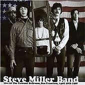 Steve Miller Band - Live at the Carousel Ballroom, San Francisco 1968 (2CD)  NEW
