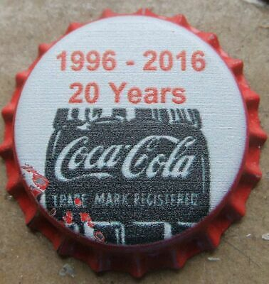 1 Kronkorken  UNUSED  COCA  - COLA COKE CANADA  bottle caps kroonkurken chapas