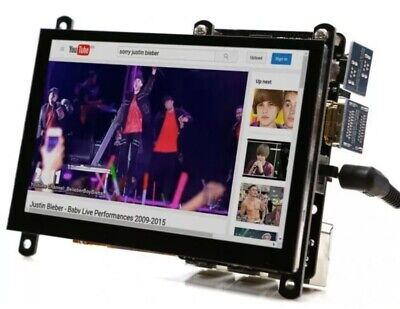 ODROID-VU5 - 5inch HDMI display with Multi-touch