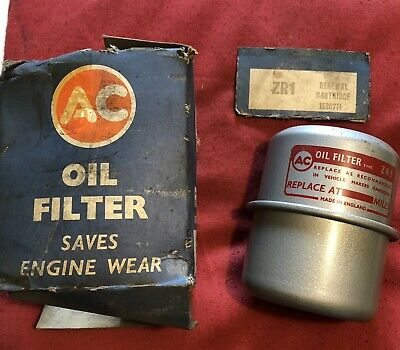 Vauxhall Bedford Oil Filter AC ZR1 H I J L PC E Wyvern Velox Extremly Rare NOS