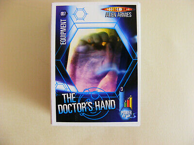Joblot 119 Doctor Who Alien Armies Common Trading Cards