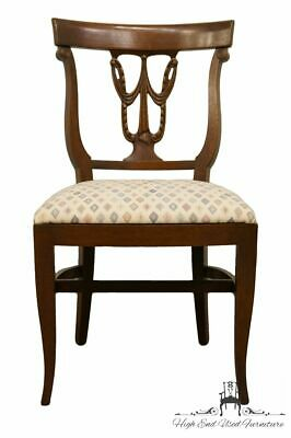 High End Federal Style Mahogany Dining Side Chair