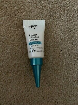 No7 Protect and Perfect Intense Advanced Eye Cream 5ml New Travel Size