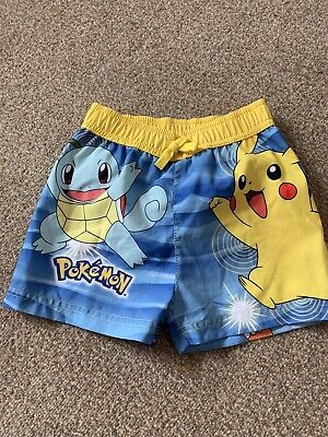 1bec4257b8070 Primark Boys Super Mario Toy Story Pokemon Swimming Swim Shorts Trunks Age  1- 10
