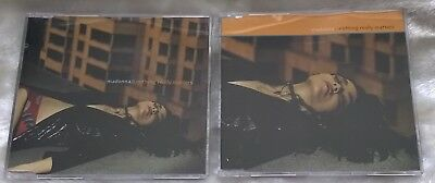"""Madonna Nothing Really Matters  X2 5"""" Cd Jewel Cases / Picture Cover Cd1 & Cd2"""