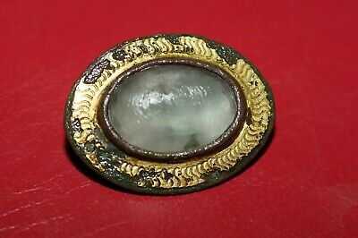 Superb Ancient Roman Jewelled Brooch. Metal detecting finds.