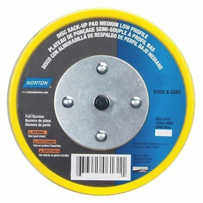"NORTON 63642506133 Disc Backup Pad,6"" dia.,15,000 rpm"