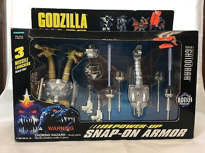 Godzilla Wars Mecha GHIDORAH Snap-on Armor Trendmasters 1995 ~Vintage Sealed NIB
