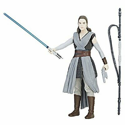Star Wars: The Last Jedi Rey (Jedi Training) Force Link Figure 3.75 Inches