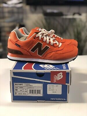 NEW BALANCE CLASSICS ML574 ML574ALN Mens Shoes RED WOVEN NEW