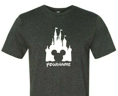 3965c1310fe2ea Personalized Disney Family Vacation Shirts - Mens & Womens Short Sleeve T- Shirt