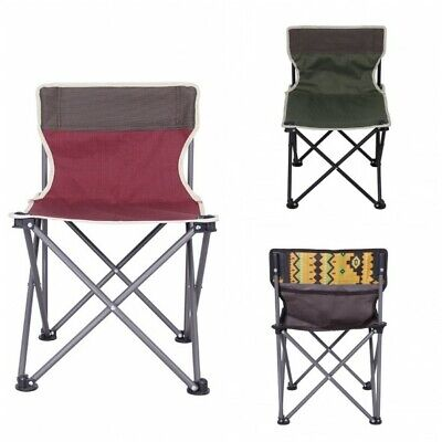 Portable Folding Chair Lounge Patio Chairs Outdoor Yard Beach Camping Oxford