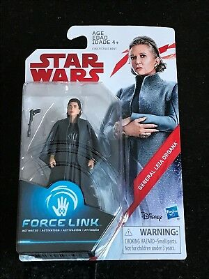"Star Wars The Last Jedi General Leia Organa 3.75"" Action Figure Hasbro"