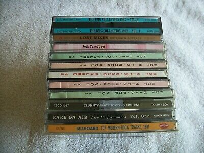 11 cd lot 1990s 181 songs great ROCK jukebox hits BMG COLLECTION kcrw see pix