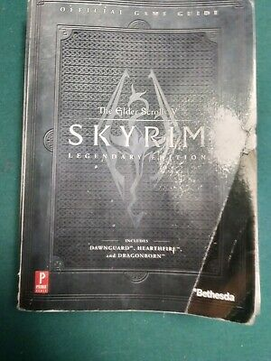 skyrim legendary edition official game guide elder scrolls Bethesda map included