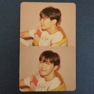 J Hope - Official Photocard BTS Map Of The Soul : Persona Genuine Kpop