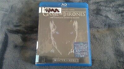 Game Of Thrones Complete Seventh 7th Season Blu-Ray