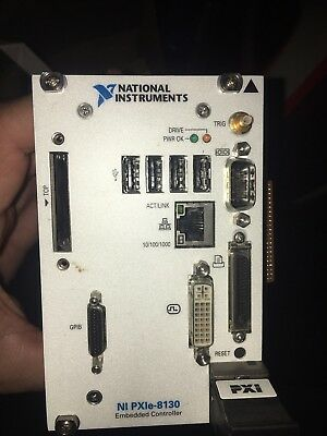 National Instruments NI PXIe-8130