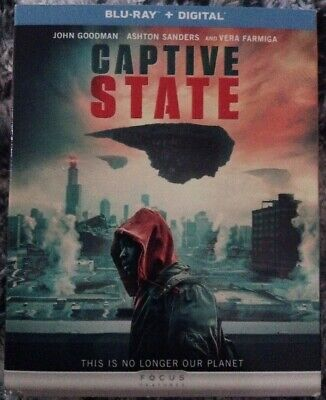 Captive State - Blu-Ray + Digital 2019 - New, Shrink Wrapped