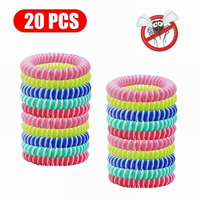 10/20X Anti Mosquito Insect Bug Pest Repel Wrist Band Bracelet Repellent Camping