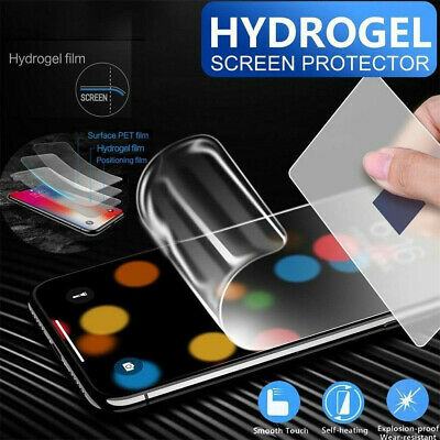 For Samsung Galaxy S8 S9+ S10+ S10 3D Hydrogel Protective Film Screen Protector