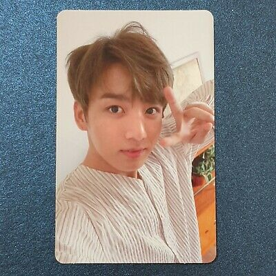 Jung Kook - Official Photocard BTS Love Yourself Photocard Genuine Kpop