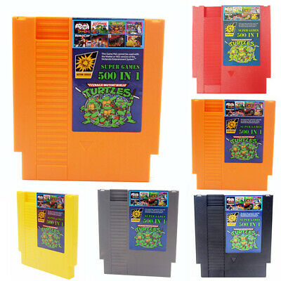Super Games 500 IN 1 Best Games Collection For Nintendo NES Classic Cartridge