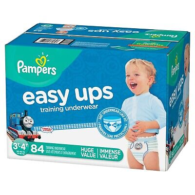 Pampers Easy Ups Training Pants Pull On Disposable Diapers for Boys Size 5