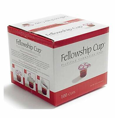 Fellowship cup,Prefilled communion cups juice/wafer-100 cups net wt.1.62 lb by