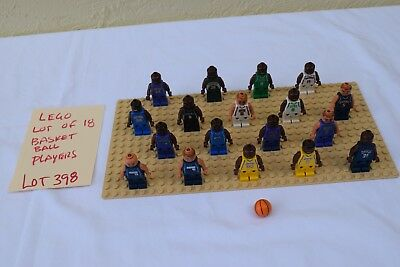 LEGO Sports Lakers Kobe Bryant # 8 and many more lot of 18 players