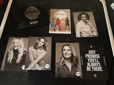 Spice Girls Spice world 2019 VIP postcards official tour merchandise