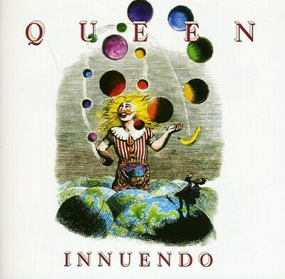 Queen Innuendo Deluxe Edition Remastered 2 CD NEW unsealed