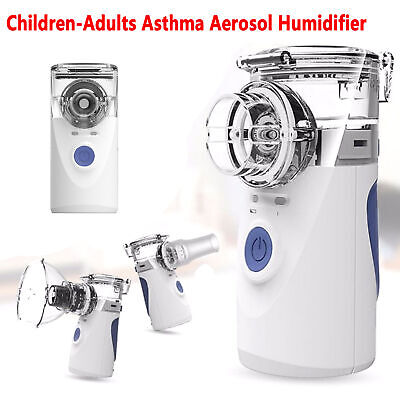 Operated Portable Replaceable Battery Ultrasonic Nebulizer Asthma and COPD 2019