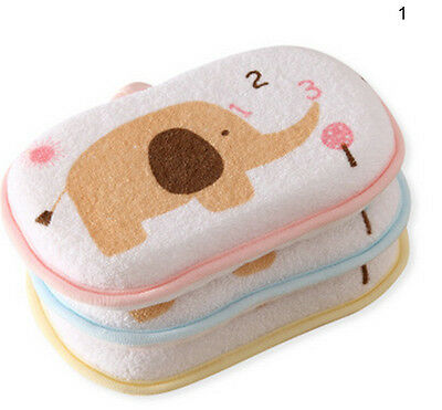 Newborn Faucet Baby Towel Accessories Infant Shower Sponge Cotton HC